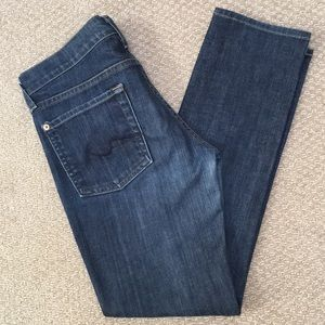 7 Fir All Mankind Roxanne skinny jeans